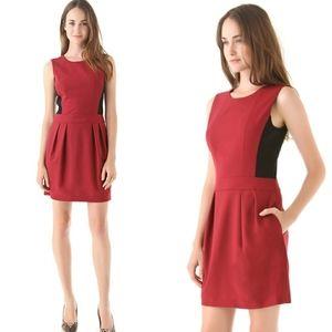 THEORY Darua Colorblock Sleeveless Dress